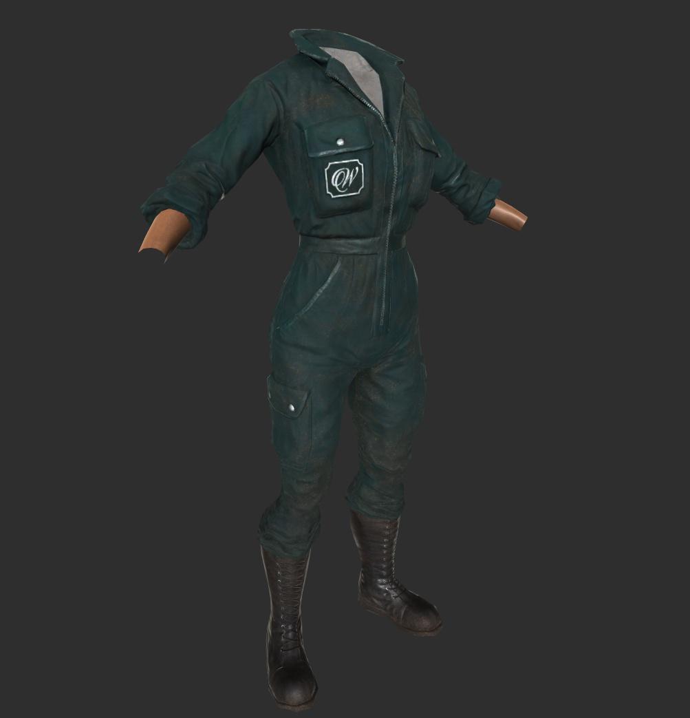 Whitespring Jumpsuit Front