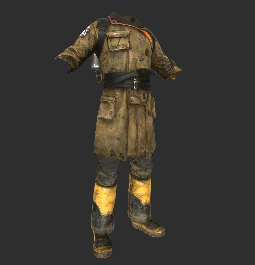 Fireman Uniform Front