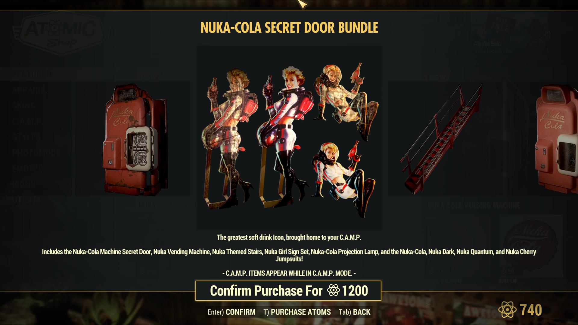 Nuka-Cola Secret Door Bundle